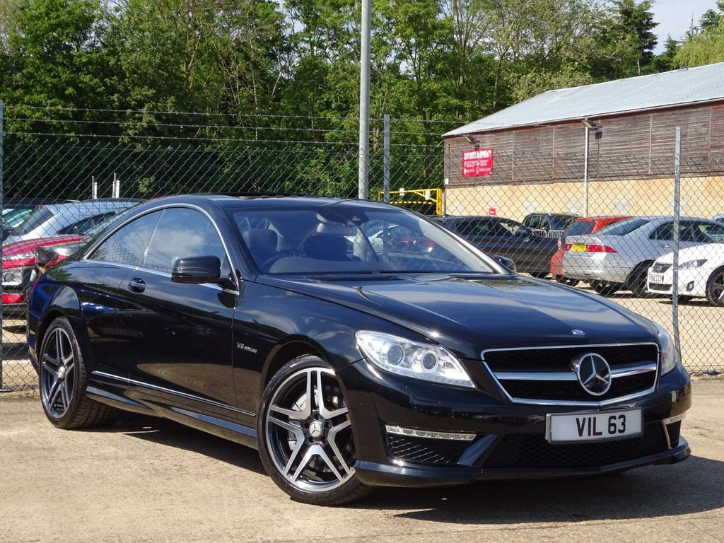 Mercedes-Benz CL Coupe 5.5 CL63 AMG 7G-Tronic 2dr