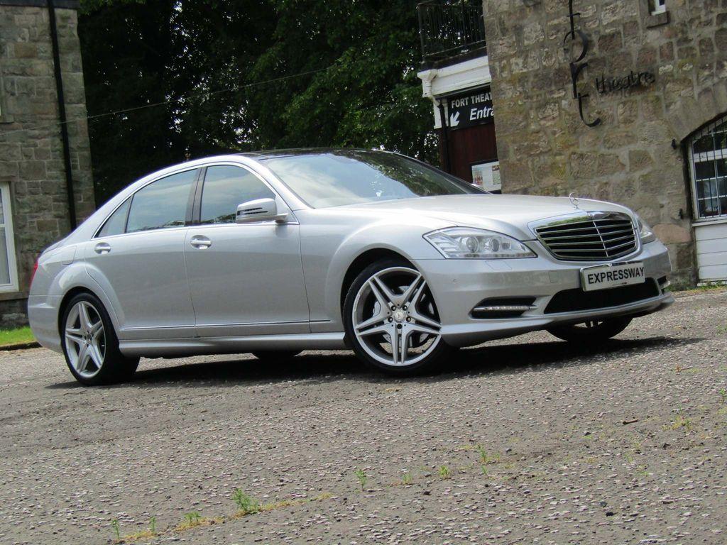 Mercedes-Benz S Class Saloon 3.0 S350 CDI BlueTEC AMG Sport Edition L 7G-Tronic Plus 4dr
