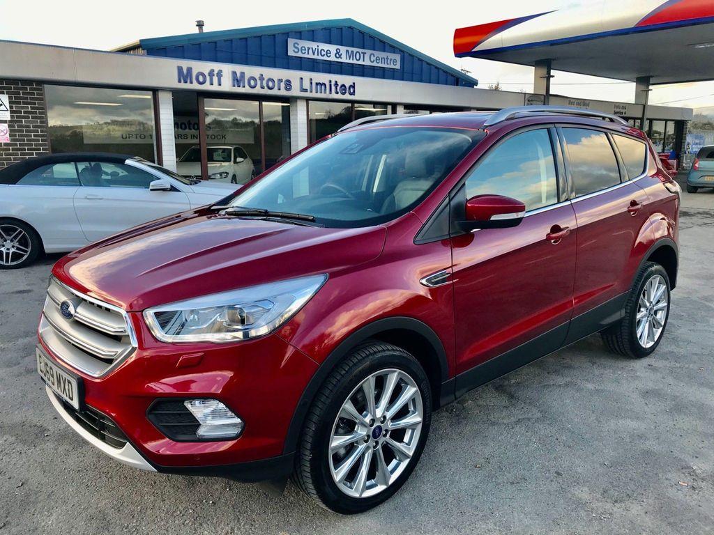 Ford Kuga SUV 1.5T EcoBoost Titanium X Edition Auto AWD (s/s) 5dr