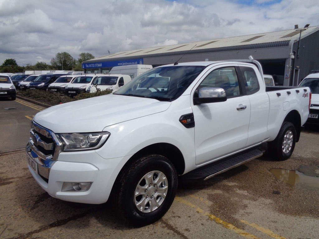 Ford Ranger Pickup 2.2 TDCi XLT Super Cab Pickup 4WD (s/s) 4dr (Eco Axle)