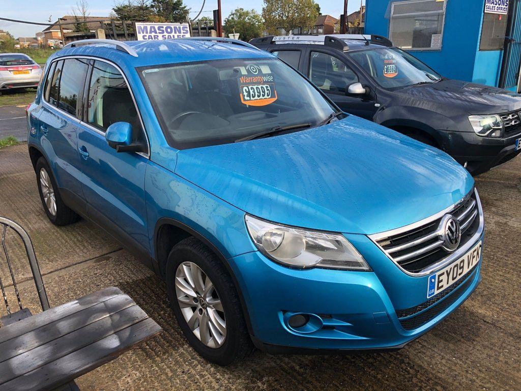Volkswagen Tiguan SUV 1.4 TSI SE 4MOTION 5dr