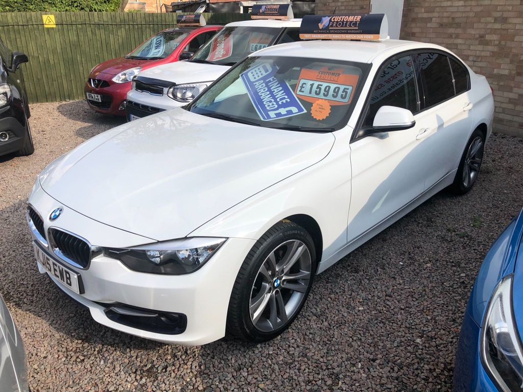 BMW 3 Series Saloon 2.0 320d Sport Auto (s/s) 4dr