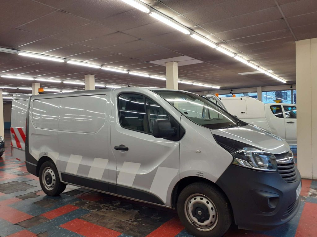 Vauxhall Vivaro Panel Van 1.6 CDTi 2900 ecoFLEX L1 H1 EU5 (s/s) 5dr