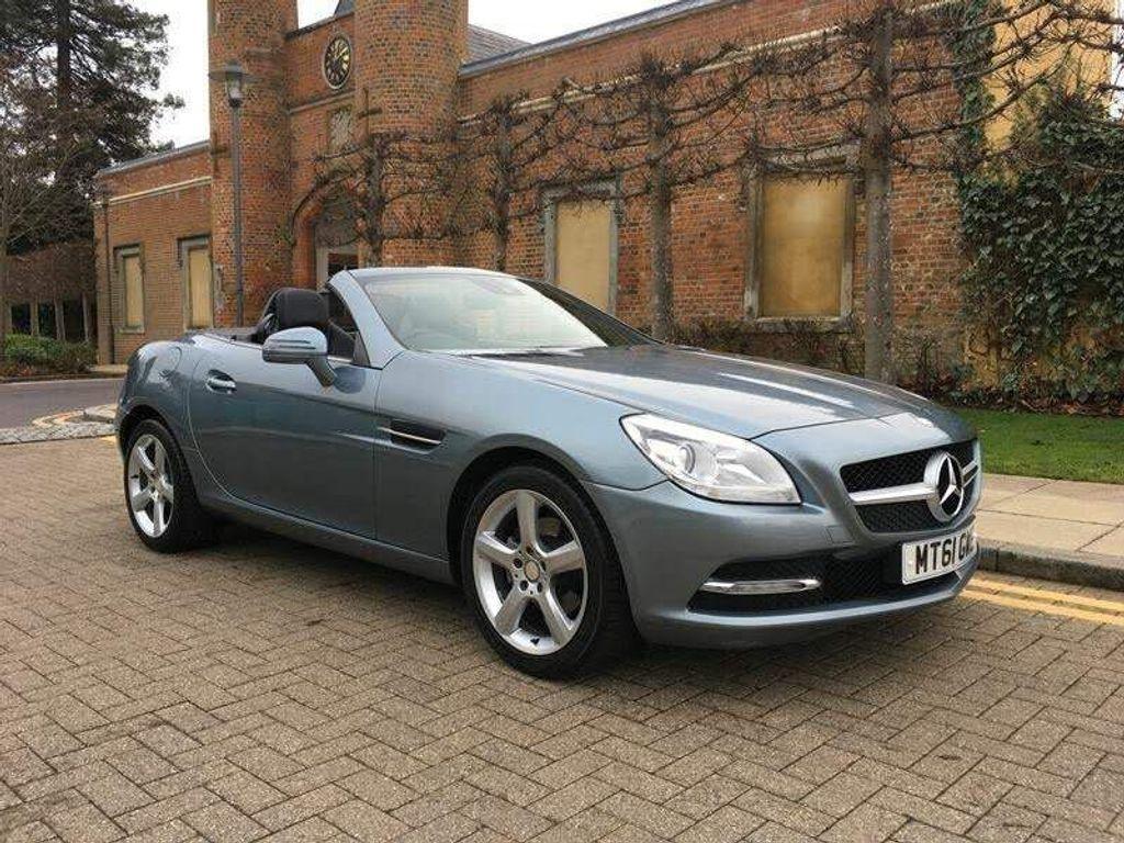 Mercedes-Benz SLK Convertible 1.8 SLK200 BlueEFFICIENCY Edition 125 7G-Tronic Plus 2dr