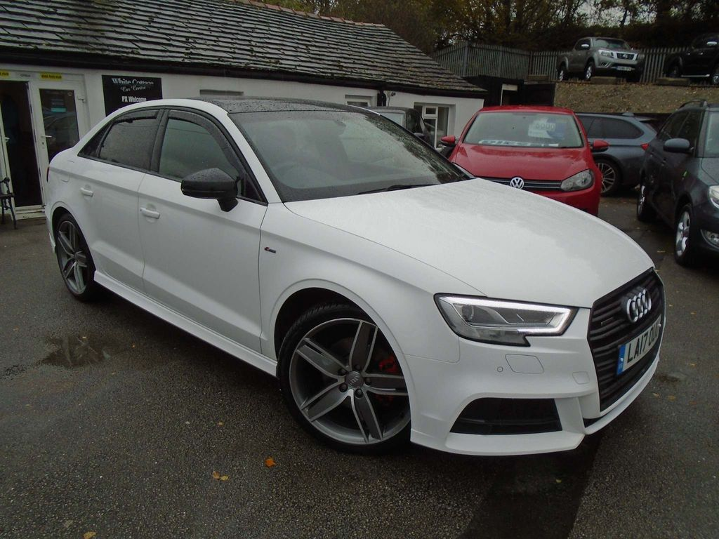 Audi A3 Saloon 2.0 TFSI Black Edition S Tronic quattro (s/s) 4dr