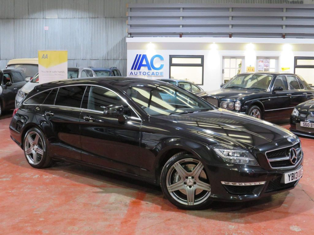 Mercedes-Benz CLS Estate 5.5 CLS63 BlueEFFICIENCY AMG Shooting Brake 7G-Tronic Plus (s/s) 5dr