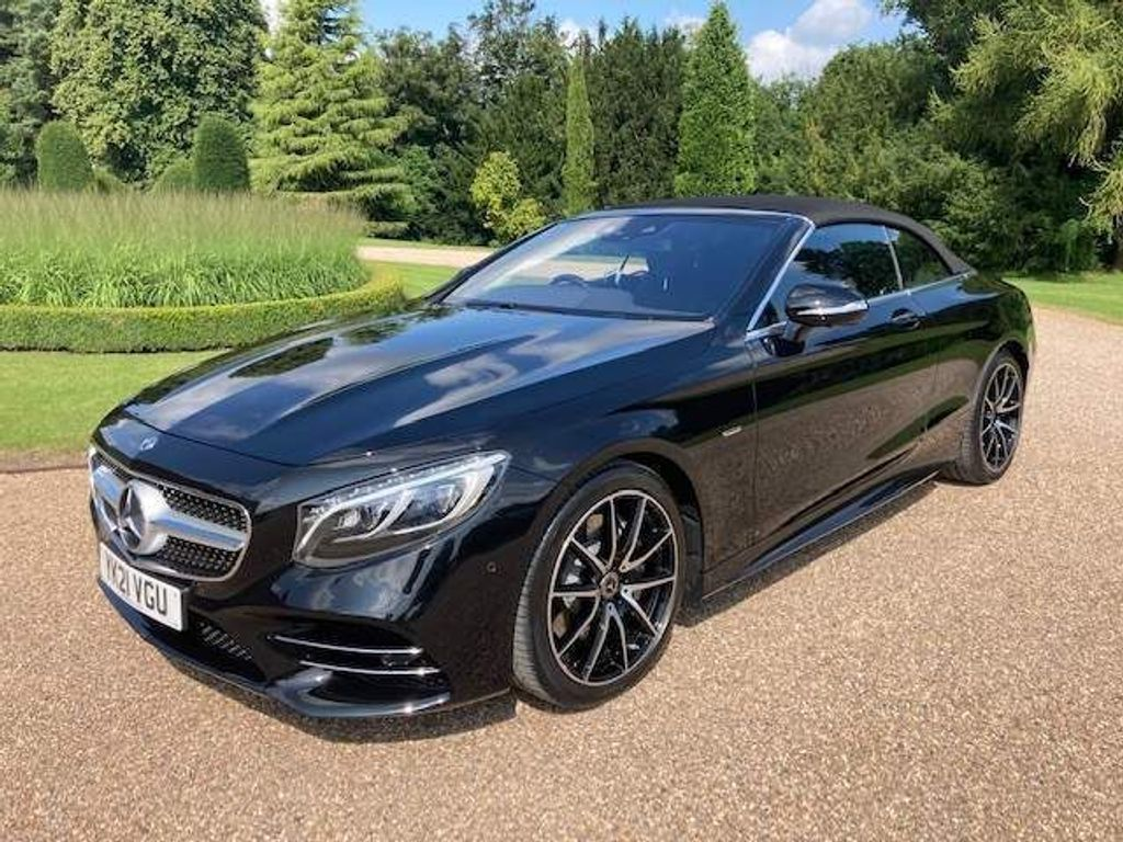Mercedes-Benz S Class Convertible 4.0 S560 V8 BiTurbo Grand Edition Cabriolet G-Tronic (s/s) 2dr