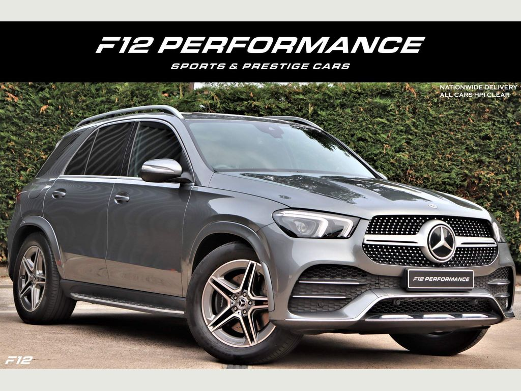Mercedes-Benz GLE Class SUV 2.9 GLE350d AMG Line G-Tronic 4MATIC (s/s) 5dr
