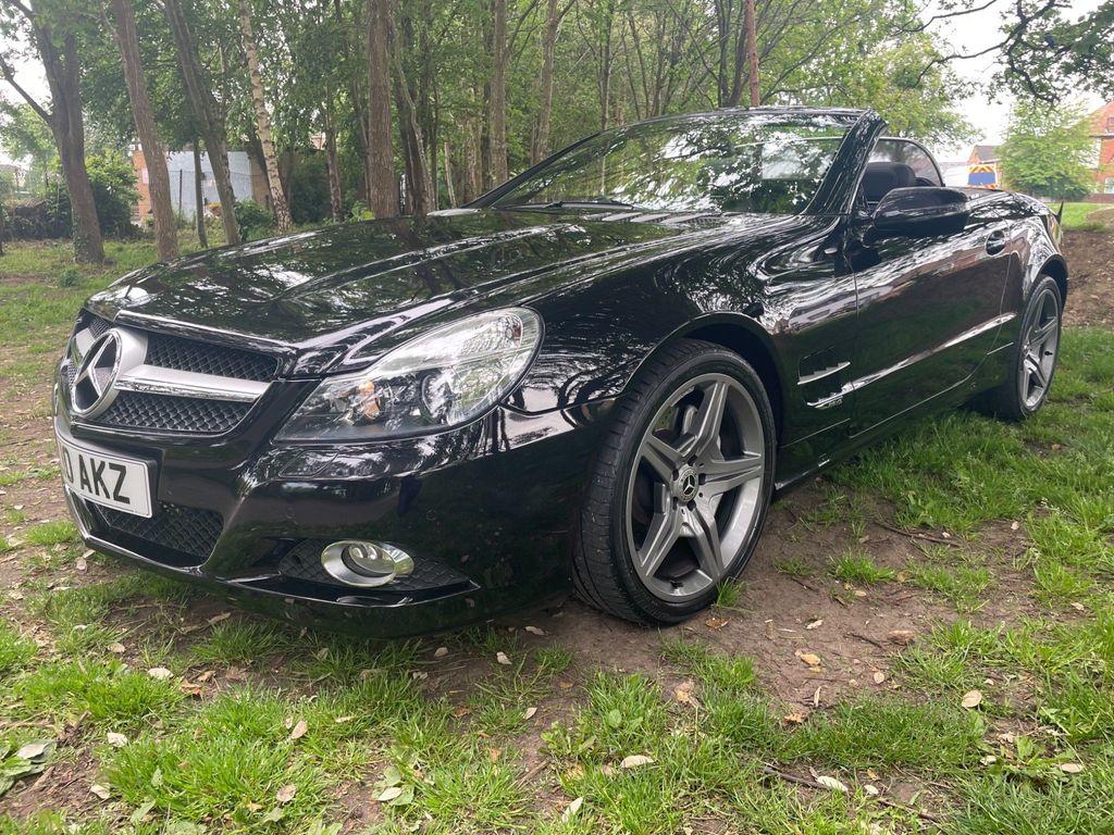 Mercedes-Benz SL Class Convertible 3.5 SL350 Night Edition Cabriolet 2dr