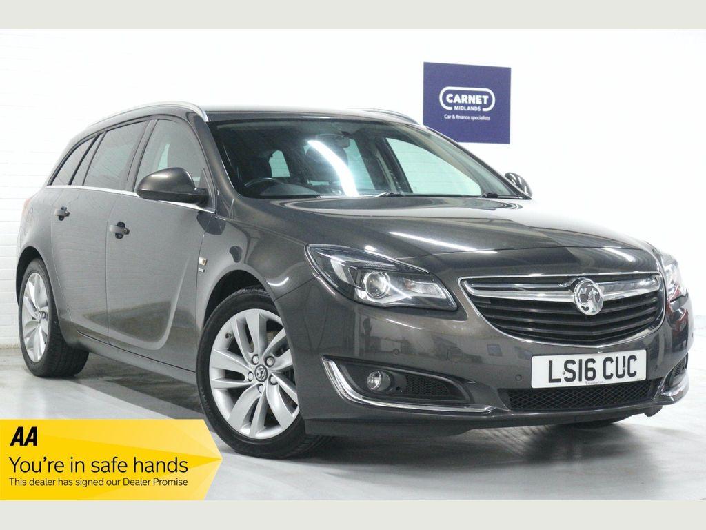 Vauxhall Insignia Estate 2.0 CDTi SRi Nav Sport Tourer (s/s) 5dr