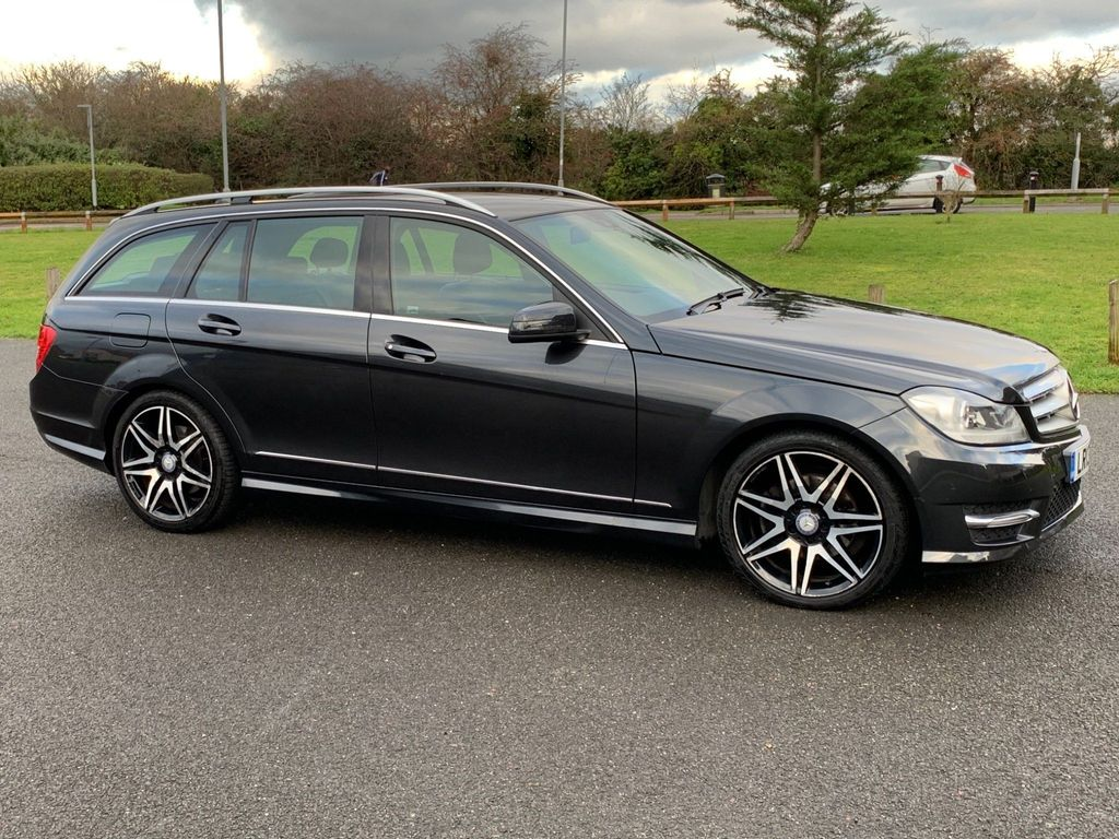 Mercedes-Benz C Class Estate 2.1 C250 CDI AMG Sport Plus 7G-Tronic Plus 5dr