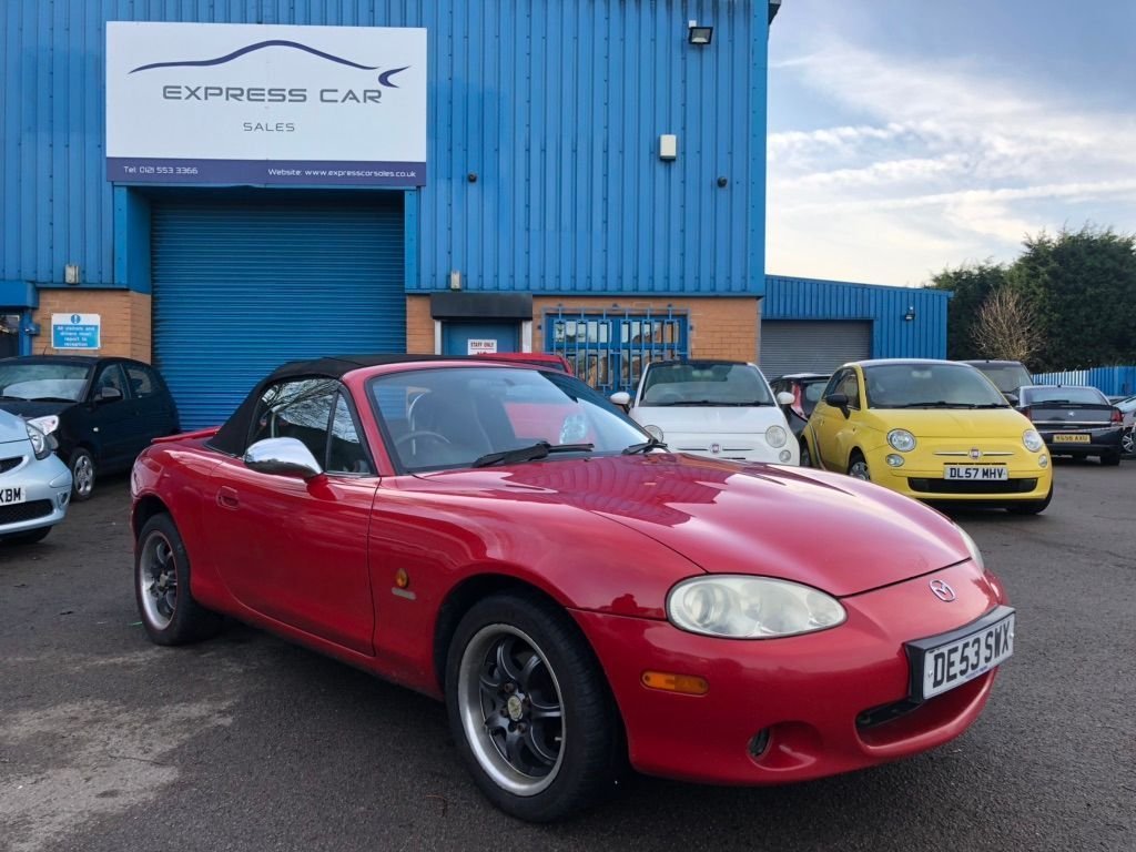 Mazda MX-5 Convertible 1.8 Angels Limited Edition 2dr