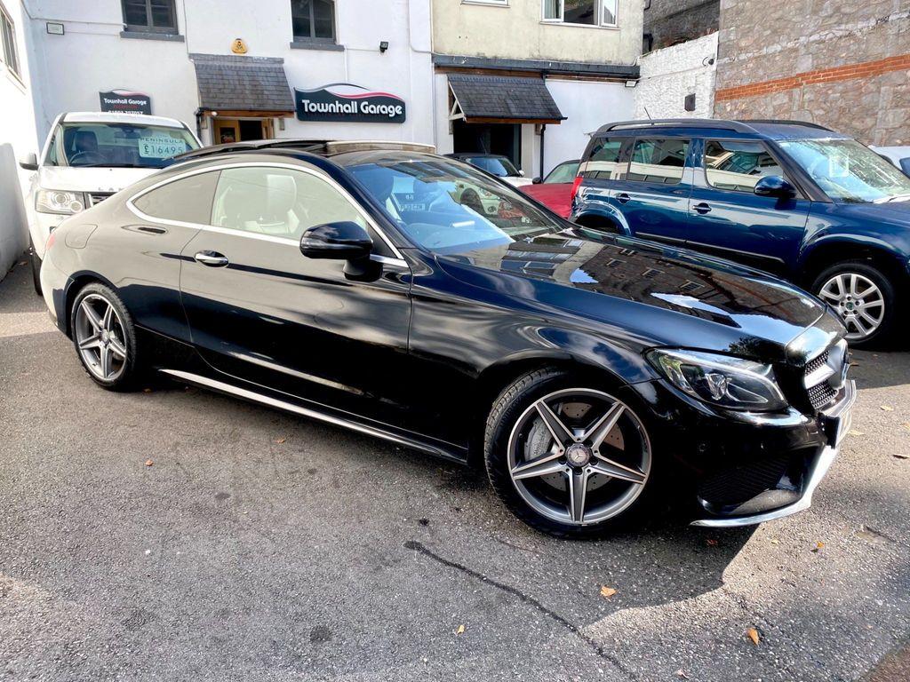 Mercedes-Benz C Class Coupe 2.1 C250d AMG Line (Premium) G-Tronic+ (s/s) 2dr
