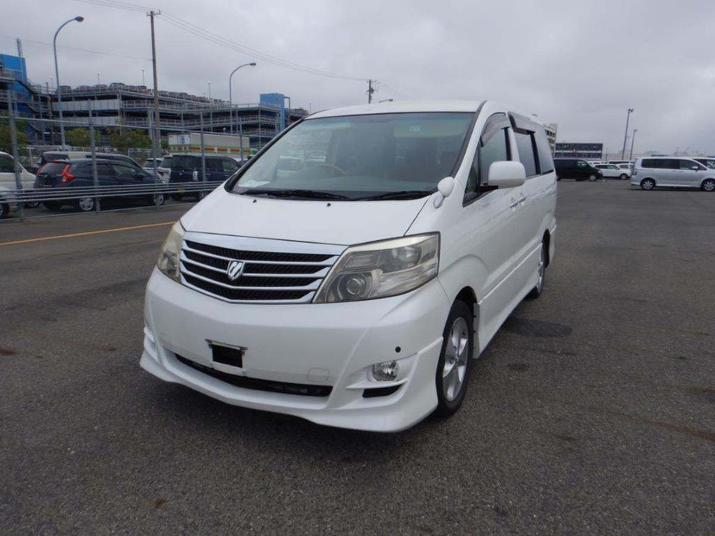 Toyota Alphard Unlisted Currently been camper converted
