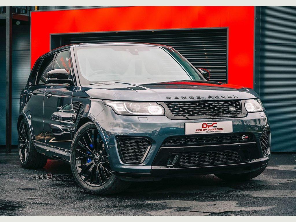 Land Rover Range Rover Sport SUV 5.0 V8 SVR Auto 4WD (s/s) 5dr