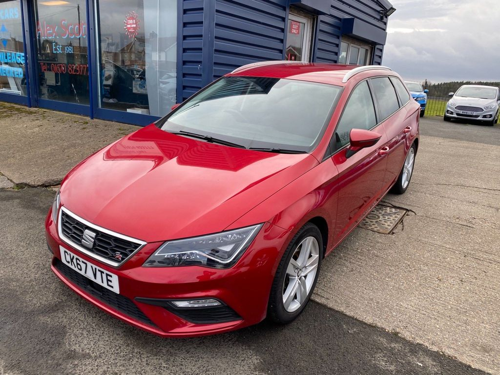 SEAT Leon Estate 1.8 TSI FR Technology ST DSG (s/s) 5dr
