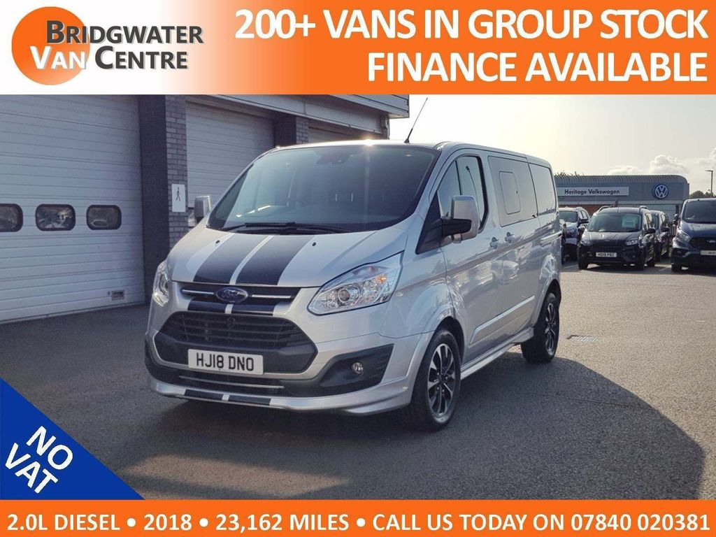 Ford Transit Custom Other 2.0 TDCi 290 L1H1 Sport Double Cab-in-Van 6dr (EU6)