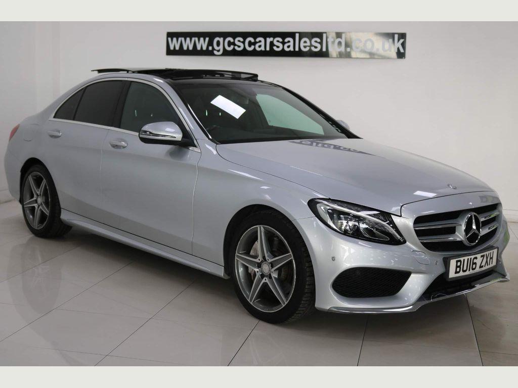 Mercedes-Benz C Class Saloon 2.1 C300dh AMG Line (Premium) G-Tronic+ (s/s) 4dr