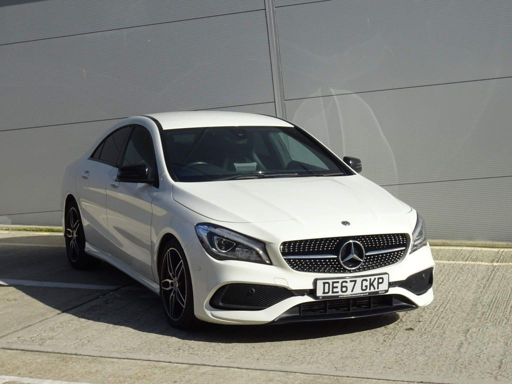 Mercedes-Benz CLA Class Coupe 1.6 CLA180 AMG Line (s/s) 4dr