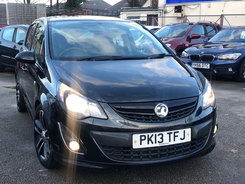 Vauxhall Corsa Hatchback 1.4 i 16v Black Edition 5dr (a/c)