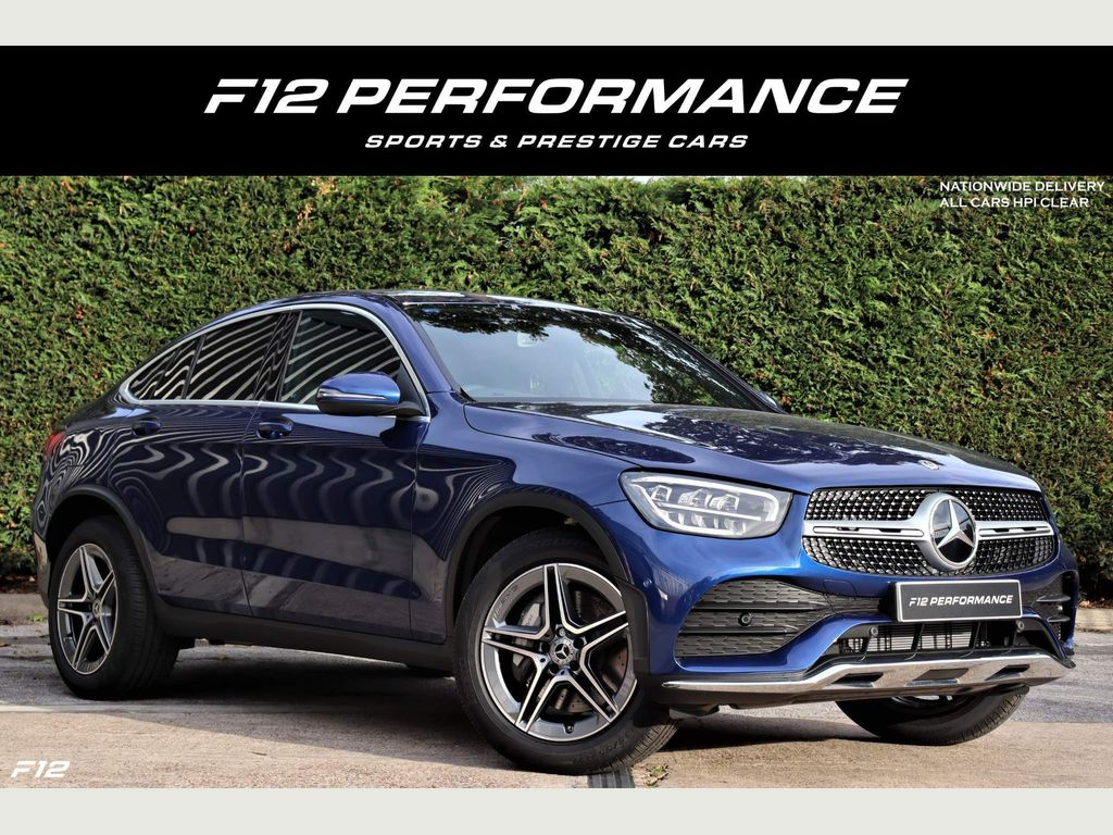 Mercedes-Benz GLC Class Coupe 2.0 GLC300 AMG Line G-Tronic+ 4MATIC (s/s) 5dr