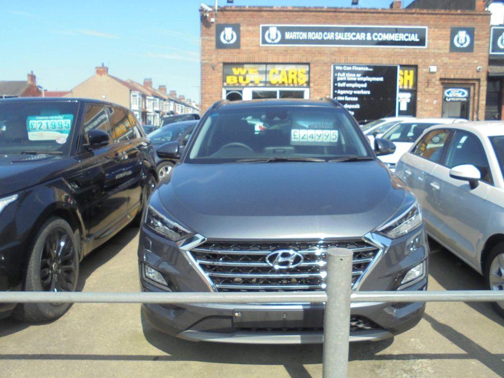 Hyundai Tucson SUV 2.0 CRDi Premium SE Auto 4WD (s/s) 5dr