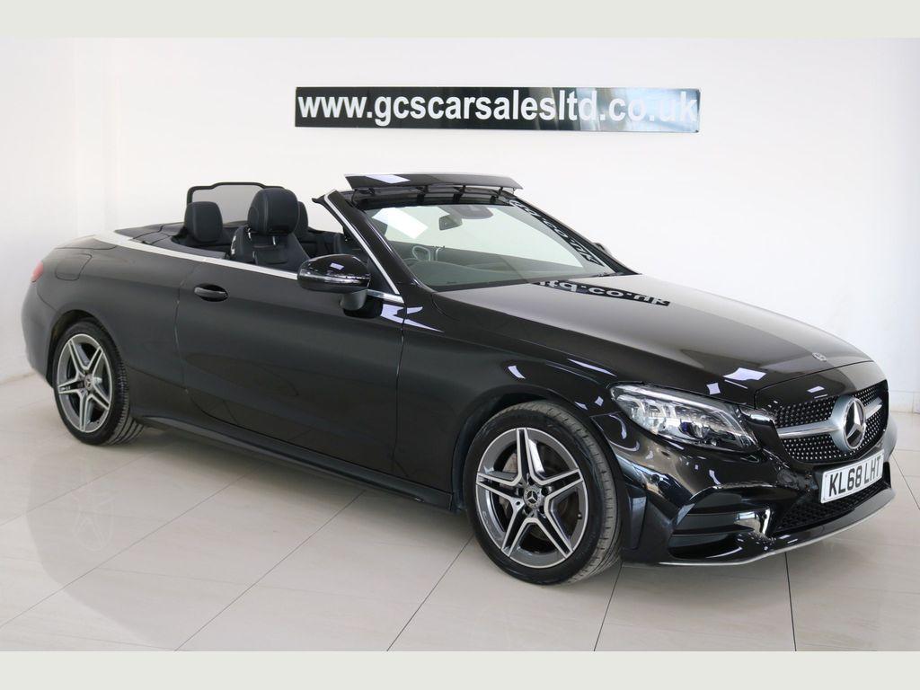 Mercedes-Benz C Class Convertible 2.0 C300d AMG Line (Premium) Cabriolet G-Tronic+ (s/s) 2dr
