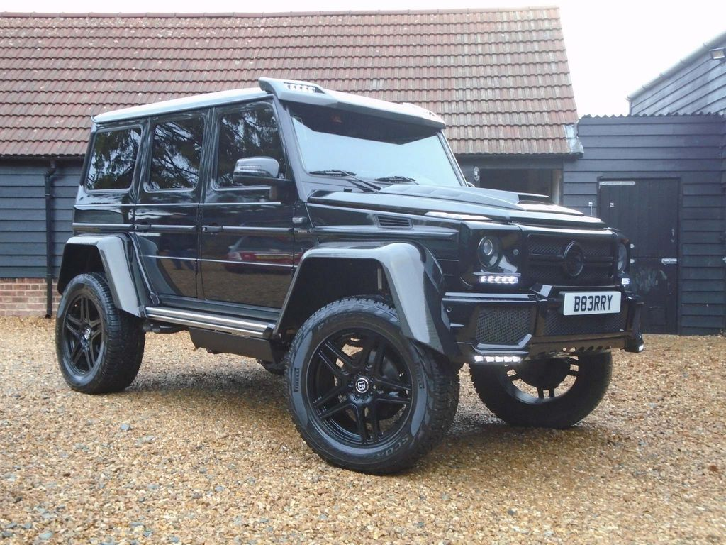 Mercedes-Benz G Class SUV G55 AMG 4X4 SQUARED