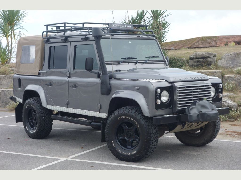 Land Rover Defender 110 Pickup 2.4 TDCi XS Double Cab Pickup 4WD MWB 4dr