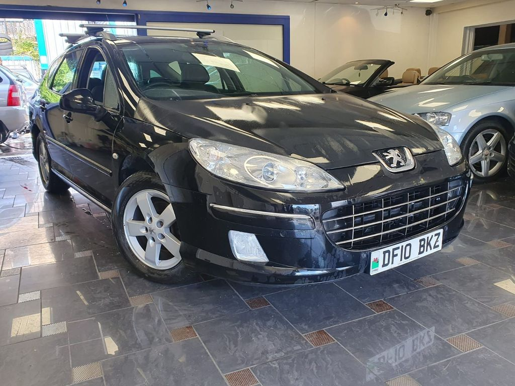 Peugeot 407 SW Estate 2.0 HDi FAP Sport 5dr