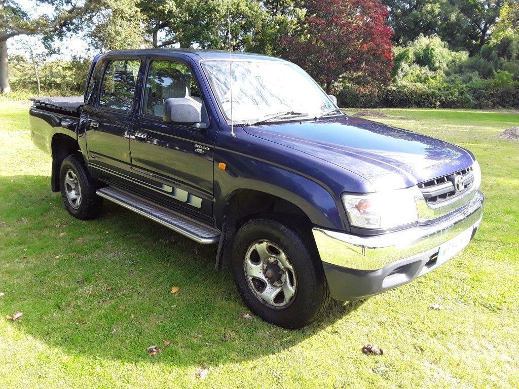Toyota Hilux Pickup 2.5 280 EX Pickup 4dr Diesel Manual (102 bhp)