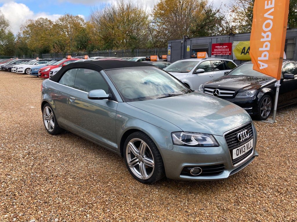 Audi A3 Cabriolet Convertible 1.6 TDI S line Final Edition Cabriolet 2dr