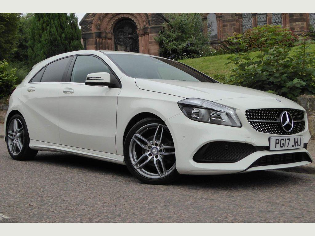 Mercedes-Benz A Class Hatchback 1.6 A200 AMG Line (Executive) 7G-DCT (s/s) 5dr