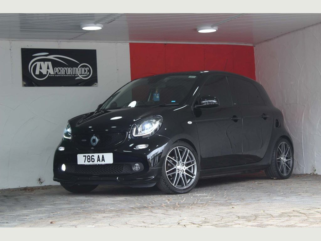 Smart forfour Hatchback 0.9T BRABUS Xclusive Twinamic (s/s) 5dr