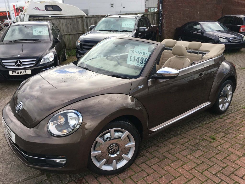 Volkswagen Beetle Convertible 1.4 TSI 70s Cabriolet 2dr