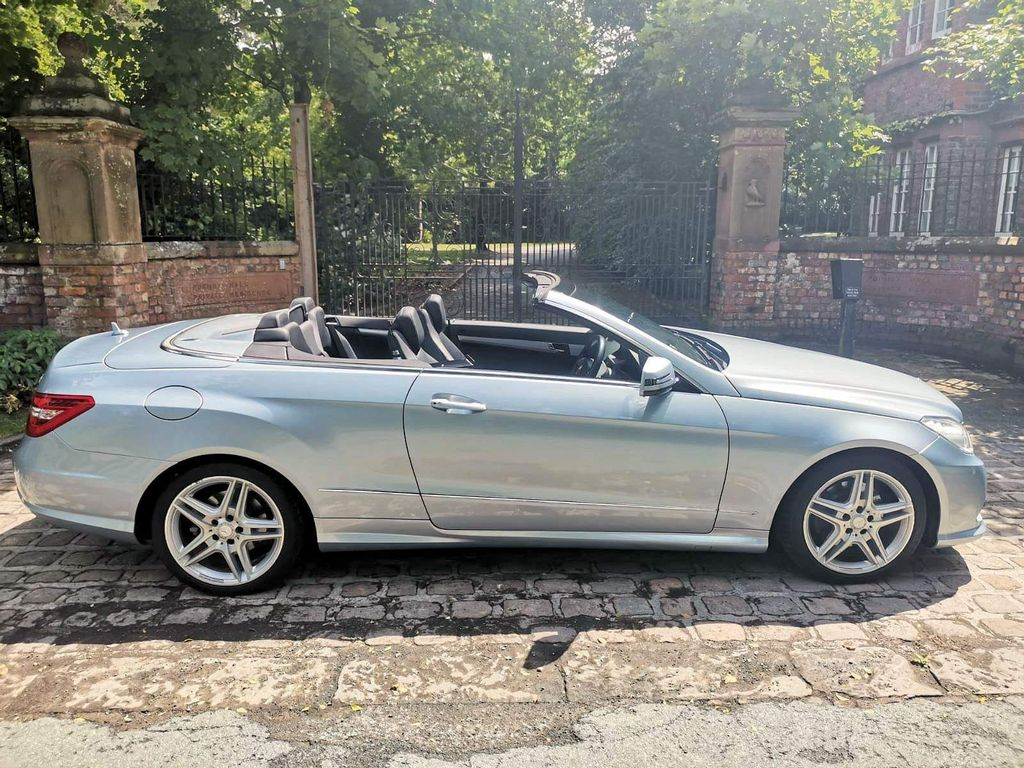 Mercedes-Benz E Class Convertible 3.0 E350 CDI BlueEFFICIENCY Sport Cabriolet G-Tronic 2dr
