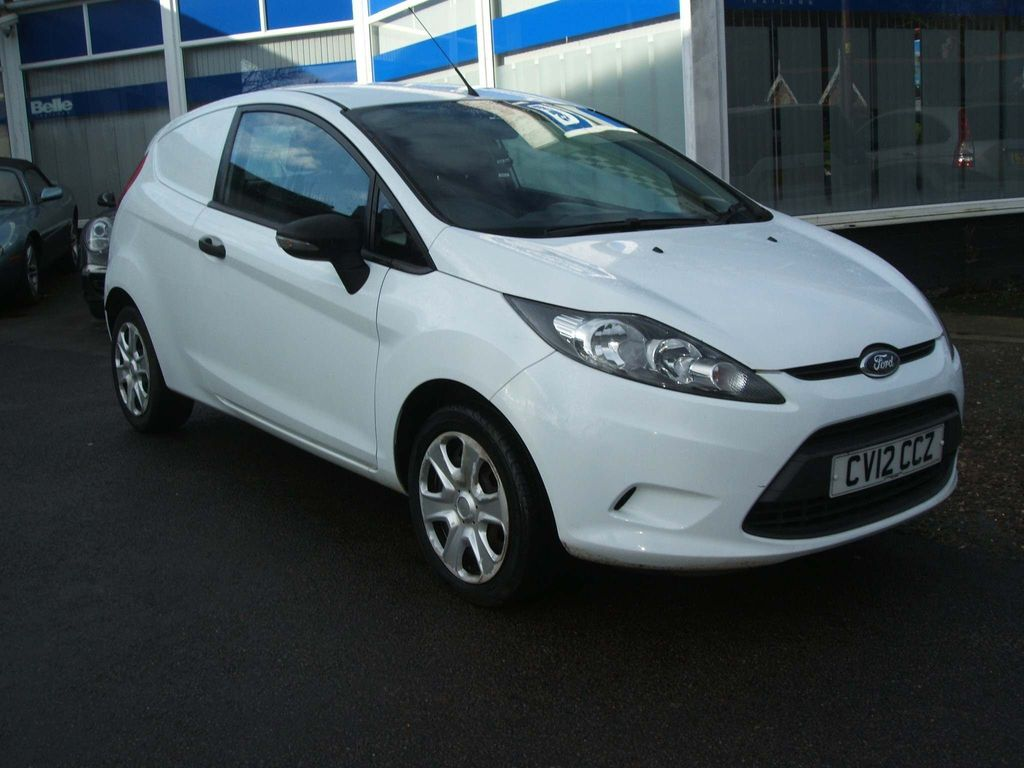 Ford Fiesta Car Derived Van 1.4 TDCI Panel Van 3dr