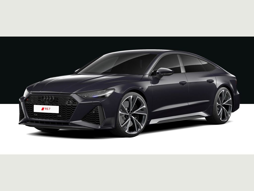 Audi RS7 Hatchback 4.0 TFSI V8 Carbon Black Sportback Tiptronic quattro (s/s) 5dr