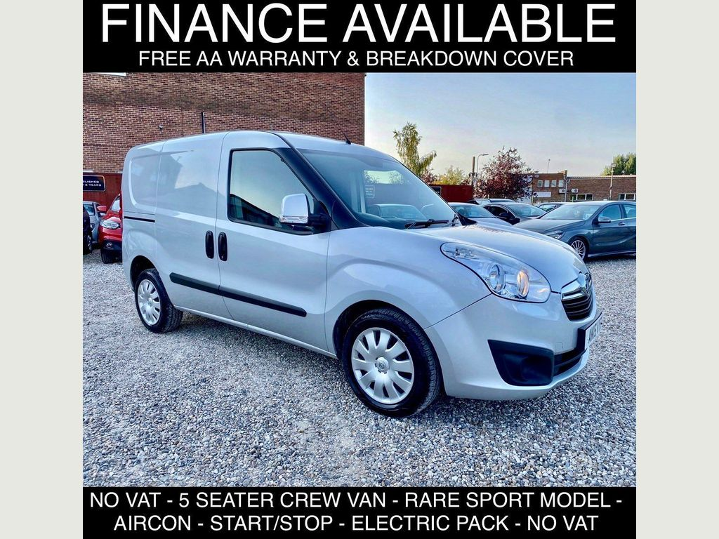 Vauxhall Combo Other 1.6 CDTi 2300 16v Sportive Crew Van L1 H1 (s/s) 5dr (5 seat)