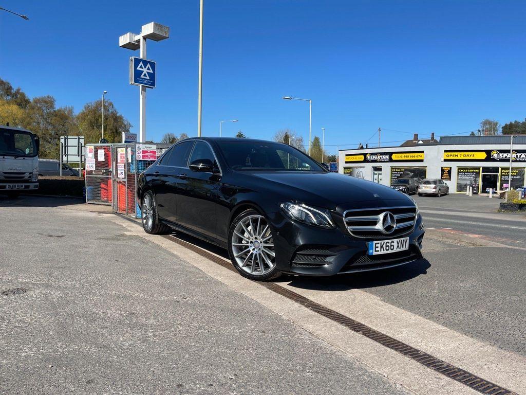Mercedes-Benz E Class Saloon 3.0 E350d V6 AMG Line (Premium) G-Tronic+ (s/s) 4dr