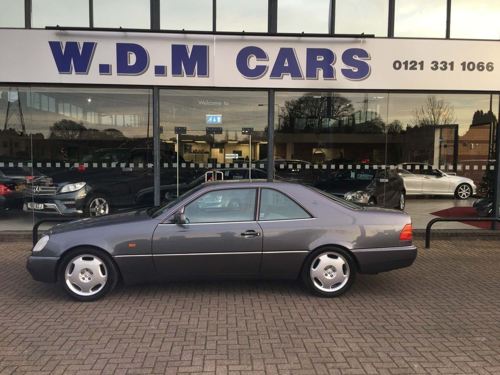 Mercedes-Benz S Class Coupe 5.0 S500 2dr