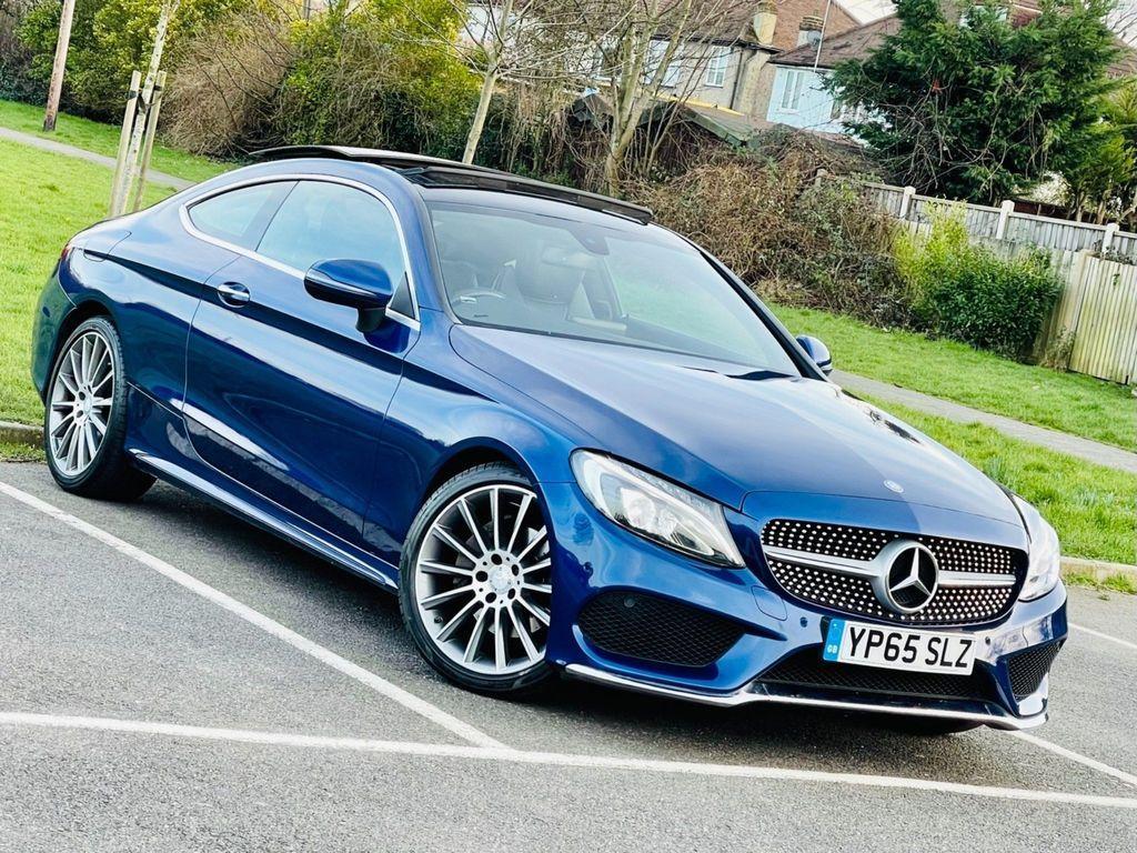 Mercedes-Benz C Class Coupe 2.0 C200 AMG Line (Premium) 7G-Tronic+ (s/s) 2dr