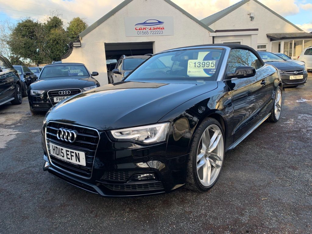 Audi A5 Cabriolet Convertible 2.0 TDI S line Special Edition Plus Cabriolet Multitronic 2dr