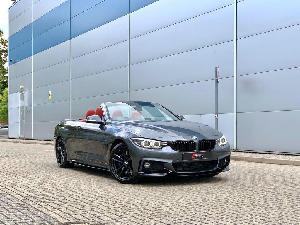 BMW 4 Series Convertible 3.0 430d M Sport Auto (s/s) 2dr