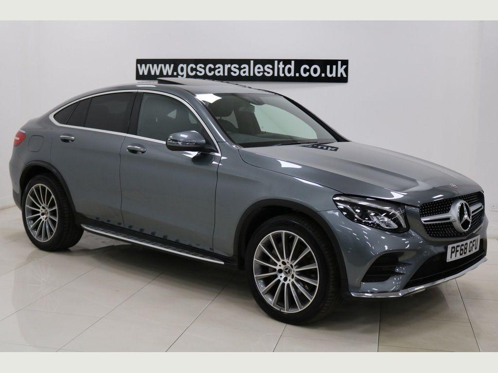 Mercedes-Benz GLC Class Coupe 2.1 GLC250d AMG Line (Premium) G-Tronic+ 4MATIC (s/s) 5dr