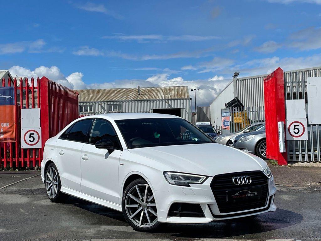 Audi A3 Saloon 1.5 TFSI CoD Black Edition S Tronic (s/s) 4dr