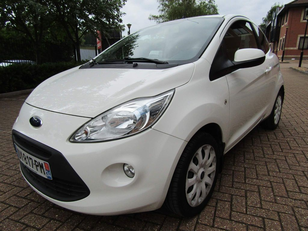 Ford Ka Unlisted 1.2 PETROL 3 DR 5 SPEED MANUAL