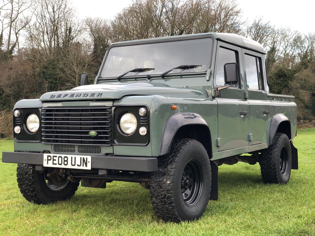 Land Rover Defender 110 Pickup 2.4 TDi Double Cab 4dr