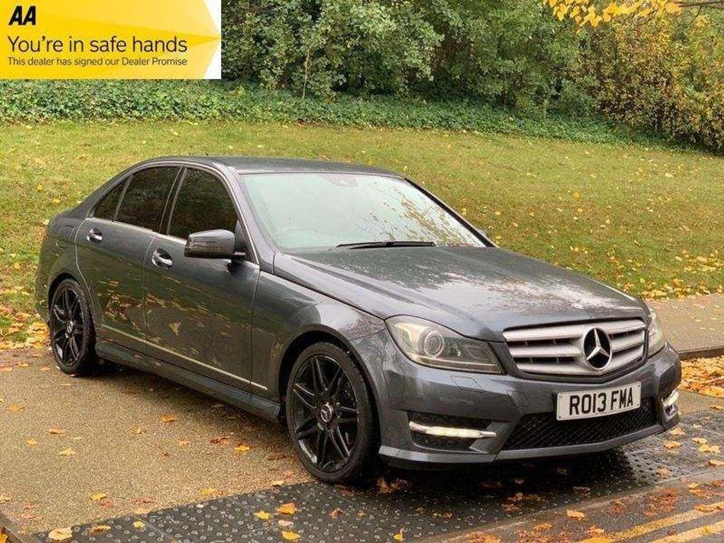 Mercedes-Benz C Class Saloon 1.8 C250 BlueEFFICIENCY AMG Sport Plus 7G-Tronic Plus 4dr