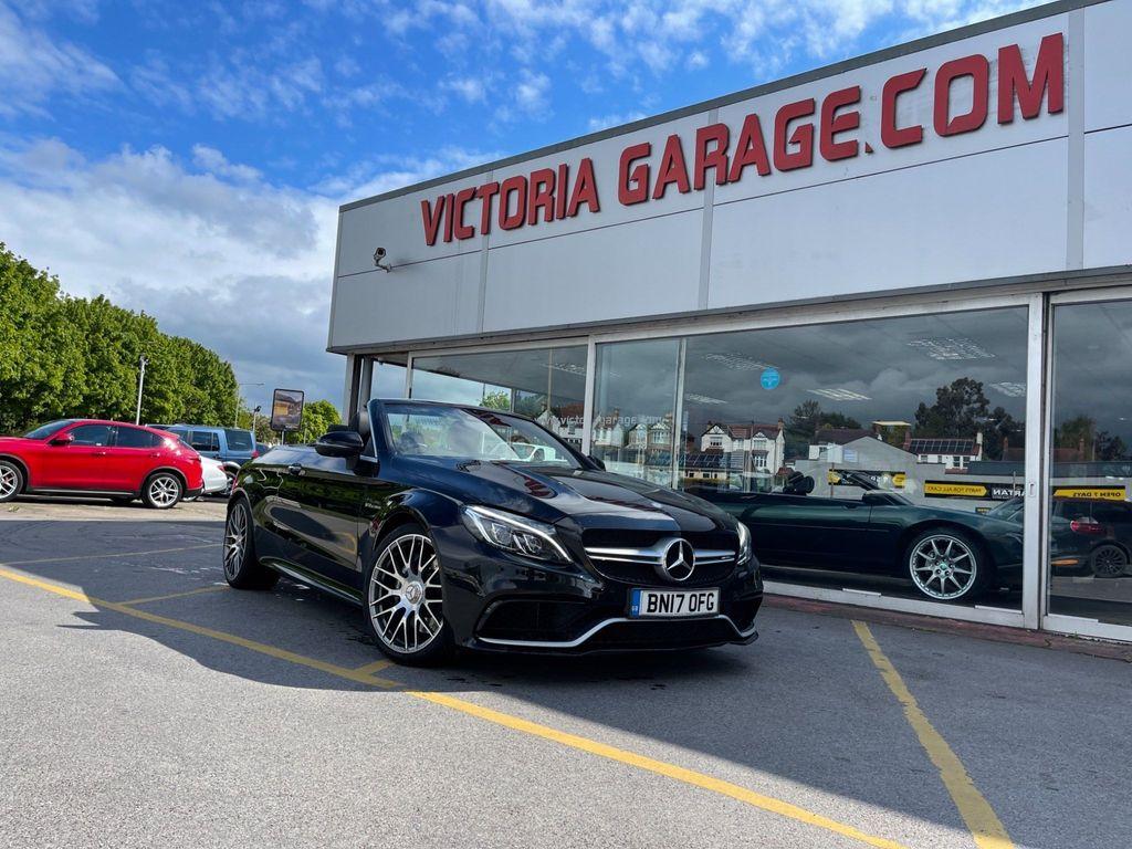 Mercedes-Benz C Class Convertible 4.0 C63 V8 BiTurbo AMG (Premium) Cabriolet SpdS MCT (s/s) 2dr